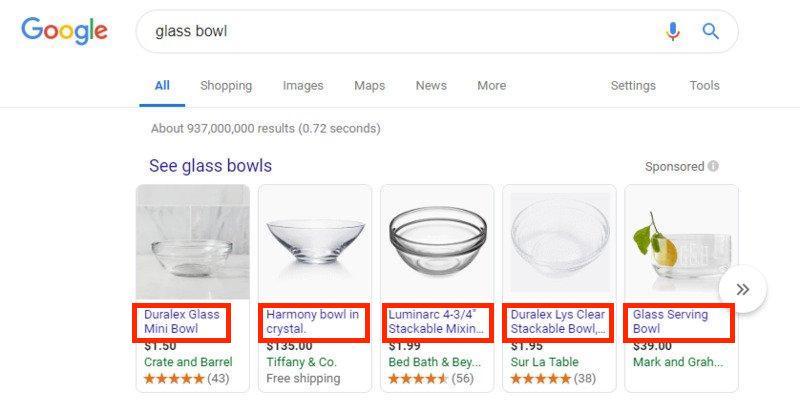 Google Shopping feed - Optimer dine produkttitler