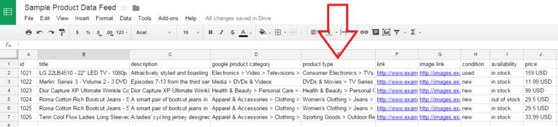 Udnyt Google produktkategorierne