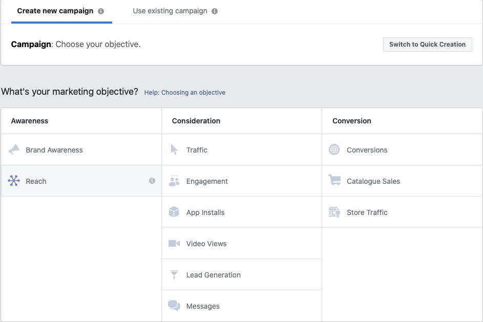 vælg et facebook må