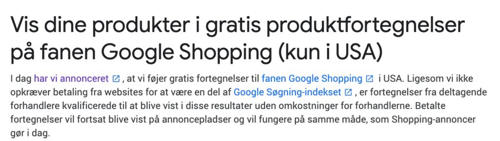 gratis markedsføring google ads